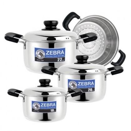 Zebra 7Pcs Wisdom Cookware Set