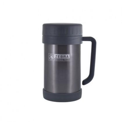 Zebra 0.5LT Double Wall Mug Vacuum Flask