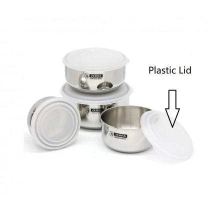 Zebra Extra Plastic Lid of Food Storage (12cm/14cm/16cm/18cm)