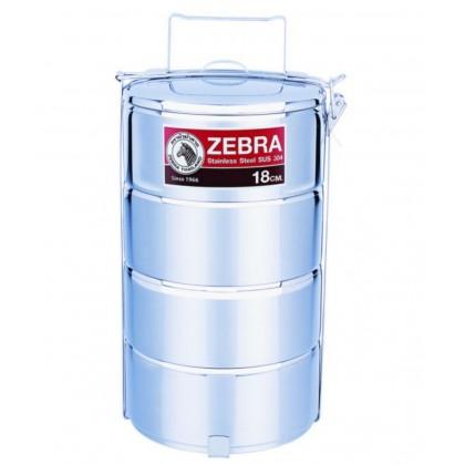 Zebra 18cm X 4 Food Carrier